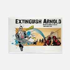Extinguish Arnold Rectangle Magnet