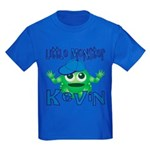 Little Monster Kevin Kids Dark T-Shirt
