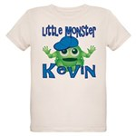 Little Monster Kevin Organic Kids T-Shirt