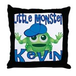 Little Monster Kevin Throw Pillow