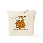 INDIANA BEAR Tote Bag