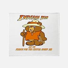 INDIANA BEAR Throw Blanket
