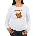 INDIANA BEAR Women's Long Sleeve T-Shirt