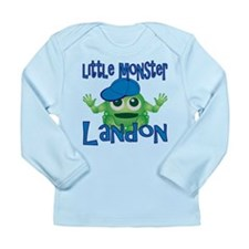 Little Monster Landon Long Sleeve Infant T-Shirt
