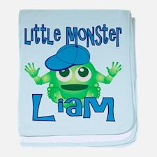 Little Monster Liam baby blanket