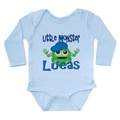 Little Monster Lucas Long Sleeve Infant Bodysuit