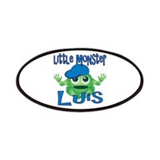 Little Monster Luis Patches
