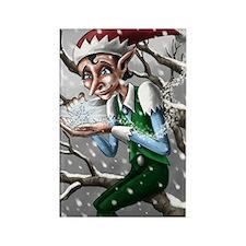 Jack Frost Rectangle Magnet (10 pack)