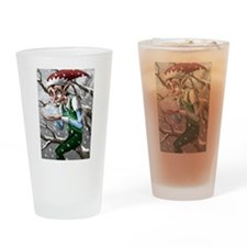Jack Frost Drinking Glass