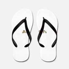 Cute Sign language Flip Flops