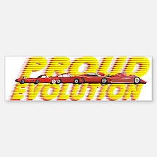 Evolution Cars Sticker (Bumper)