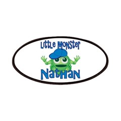 Little Monster Nathan Patches