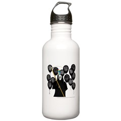 Over the Hill- Grim Reaper Birthday Water Bottle