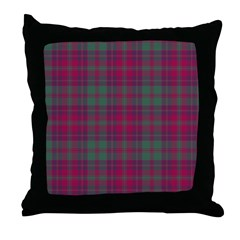 Tartan - Stewart of Urrard Throw Pillow