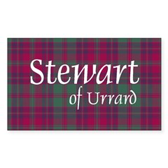 Tartan - Stewart of Urrard Decal