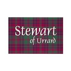 Tartan - Stewart of Urrard Rectangle Magnet