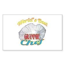 World's Best Grammie / Cook Decal