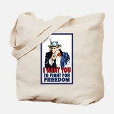 I WANT YOU to fight for Freed Tote Bag