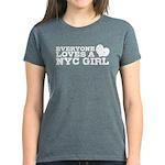 Everyone Loves a NYC Girl Women's Dark T-Shirt