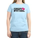 Everyone Loves a NYC Girl Women's Light T-Shirt