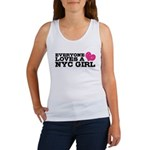 Everyone Loves a NYC Girl Women's Tank Top