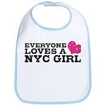 Everyone Loves a NYC Girl Bib
