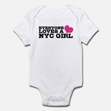 Everyone Loves a NYC Girl Infant Bodysuit