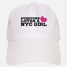 Everyone Loves a NYC Girl Baseball Baseball Cap