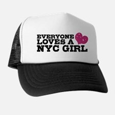 Everyone Loves a NYC Girl Trucker Hat