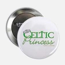 "Celtic Princess 2.25"" Button"