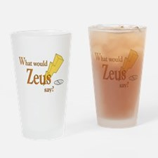 What would Zeus say? Drinking Glass