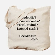 Go Greek! Tote Bag
