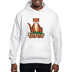 Cartoon Tiger Hoodie