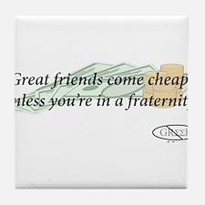 Cheap Friends Tile Coaster