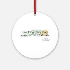 Cheap Friends Ornament (Round)