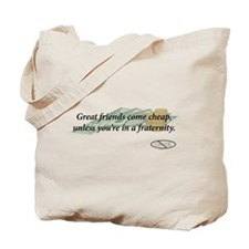 Cheap Friends Tote Bag