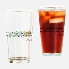 Cheap Friends Drinking Glass