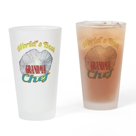 World's Best Grandma / Cook Drinking Glass