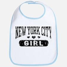 New York City Girl Bib