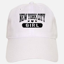 New York City Girl Baseball Baseball Cap