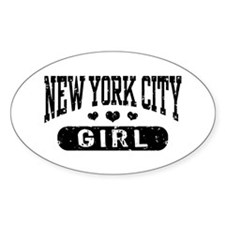New York City Girl Decal