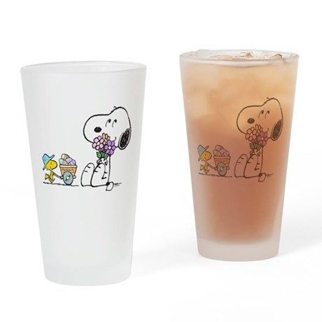 Spring Treats Drinking Glass