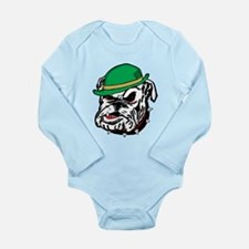 Irish Bulldog Long Sleeve Infant Bodysuit