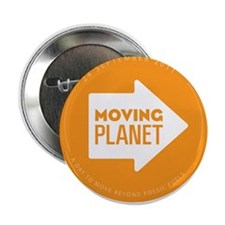 "2.25"" Button - Moving Planet"