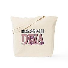Basenji DIVA Tote Bag