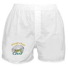 WORLD'S BEST POPPY / CHEF Boxer Shorts