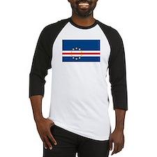 Cape Verde Flag Baseball Jersey