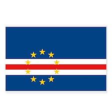 Cape Verde Flag Postcards (Package of 8)