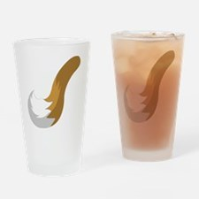 Raccoon Tail - Small Drinking Glass