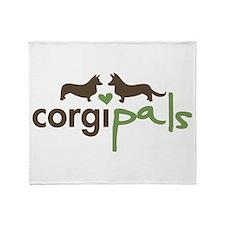 CorgiPals Logo Throw Blanket